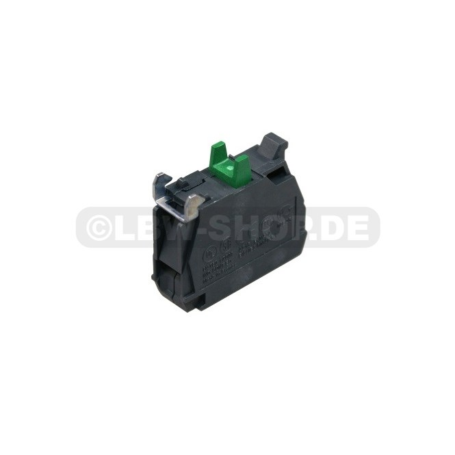Contact Block 1xNO/Green