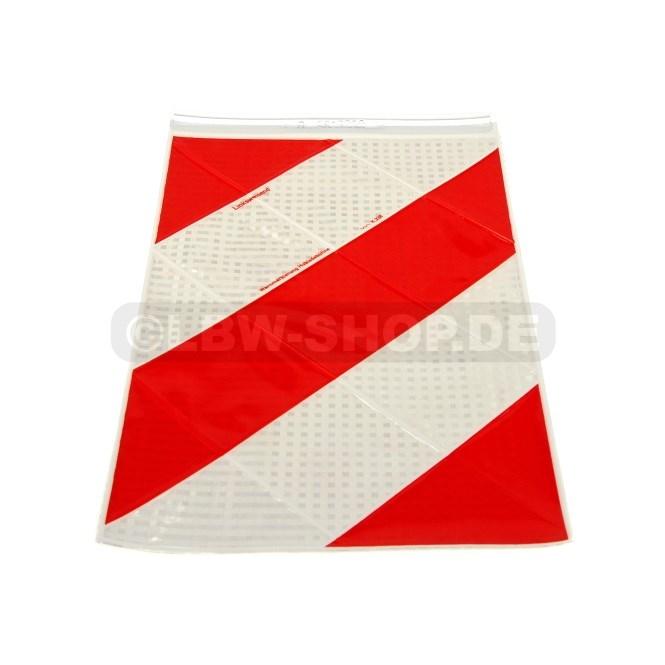 Warnflagge links