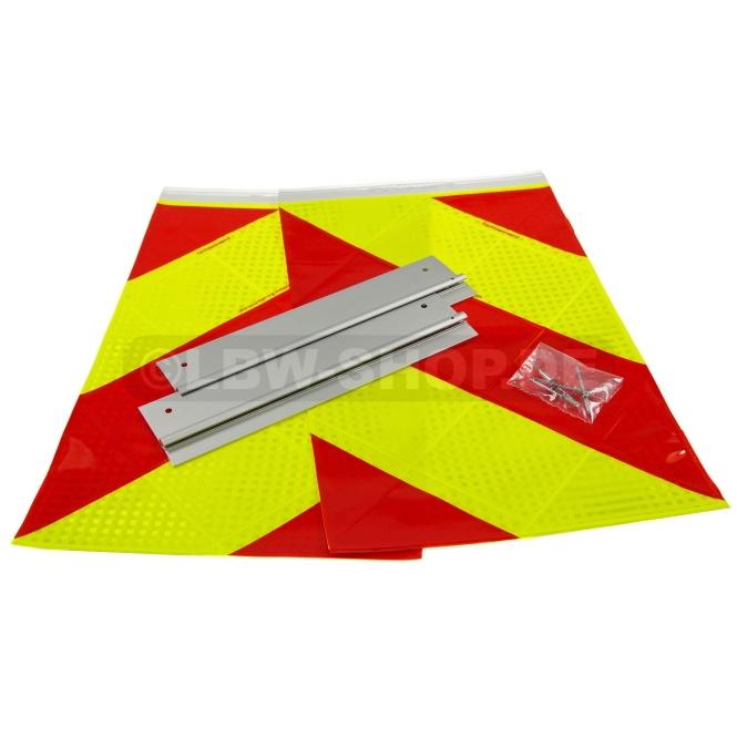 Warning Flag Kit Alu Red/Yellow