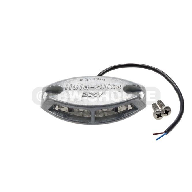 Flashing Light Hula-Blitz LED 12/24V